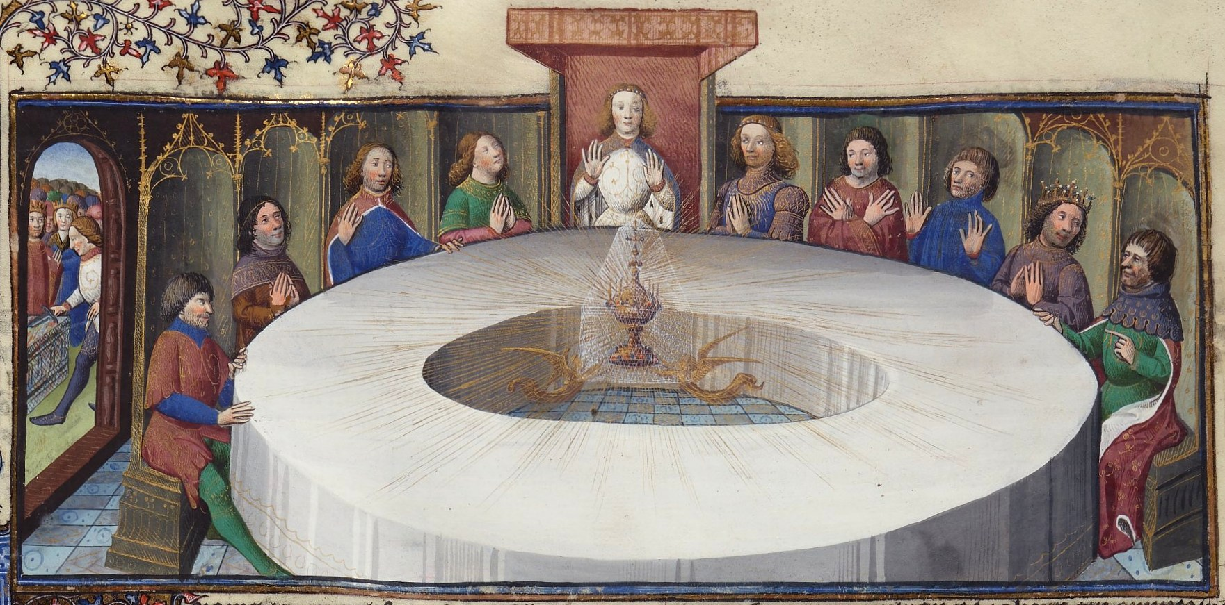 Power positions dirty furniture - King arthur s round table found ...
